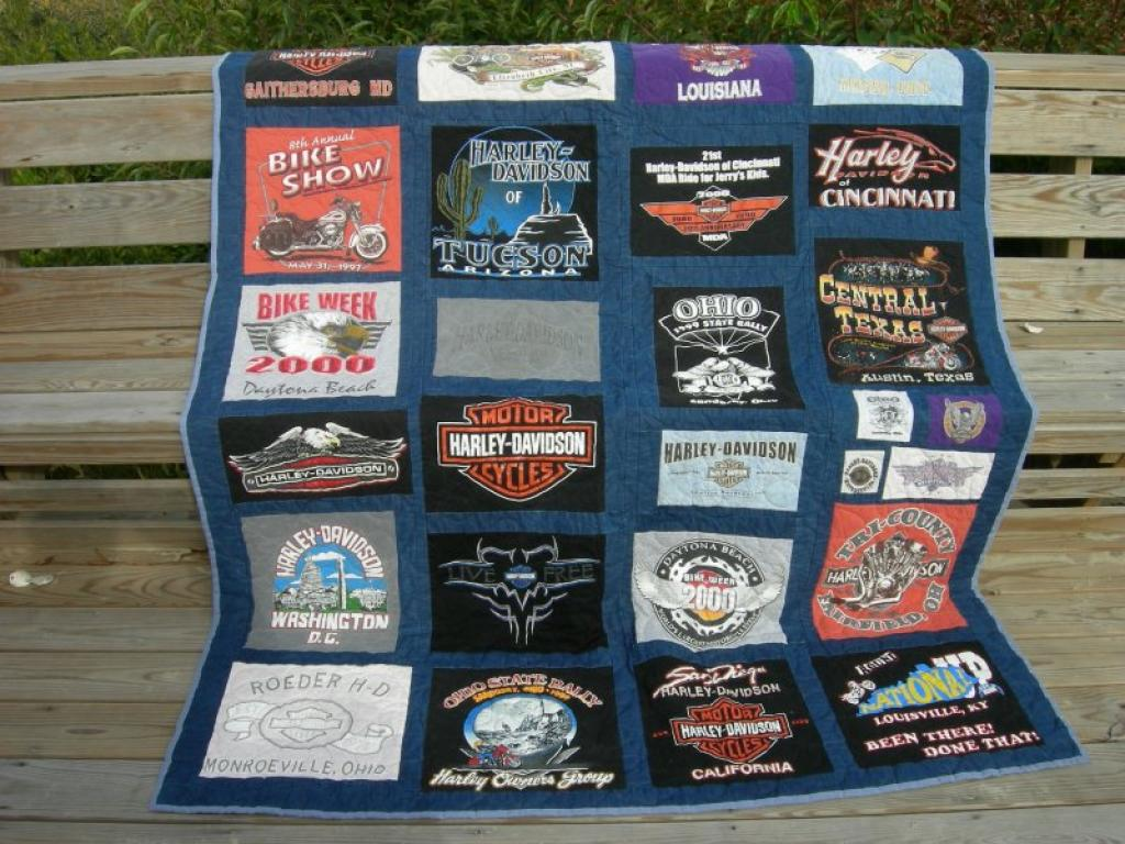 Larry's Harley Quilt