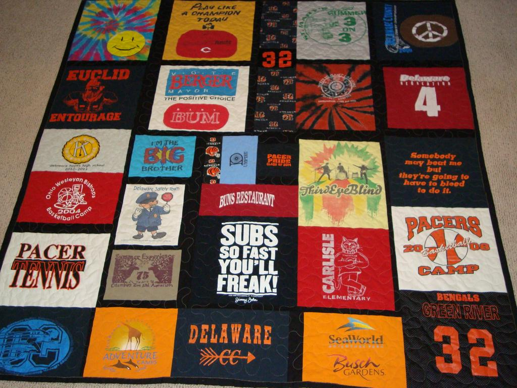 Nathan's Graduation Quilt