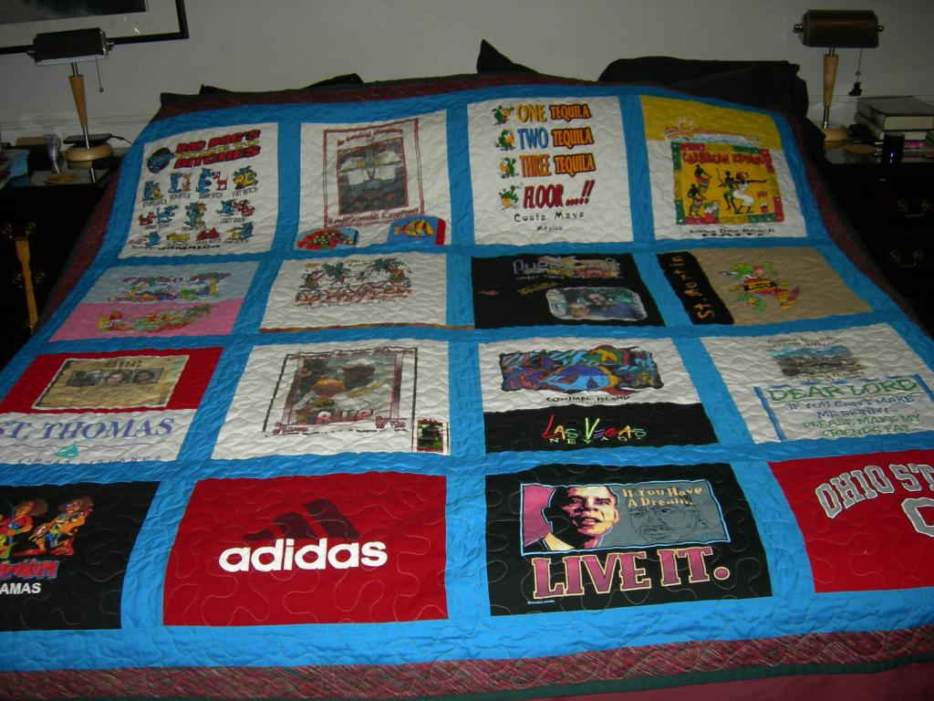 Rose's Memory Quilt
