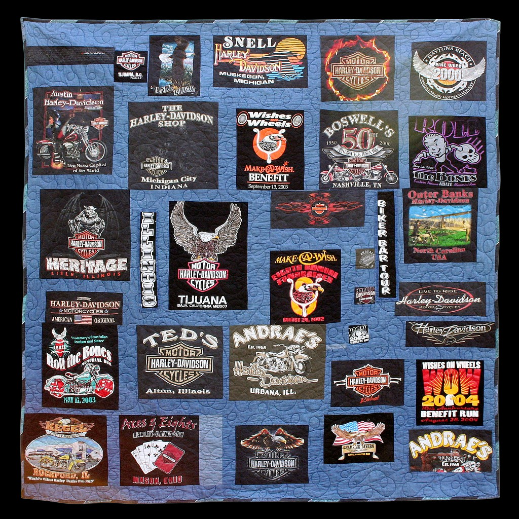 Jack's Harley Tee Quilt